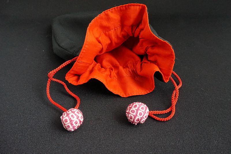 着物、和服の古布ファッション小物「和ポーチ」 - 画像3
