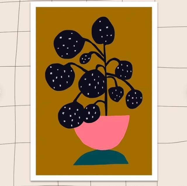 """Jennifer Bouron """"Plant"""" A4 print"""
