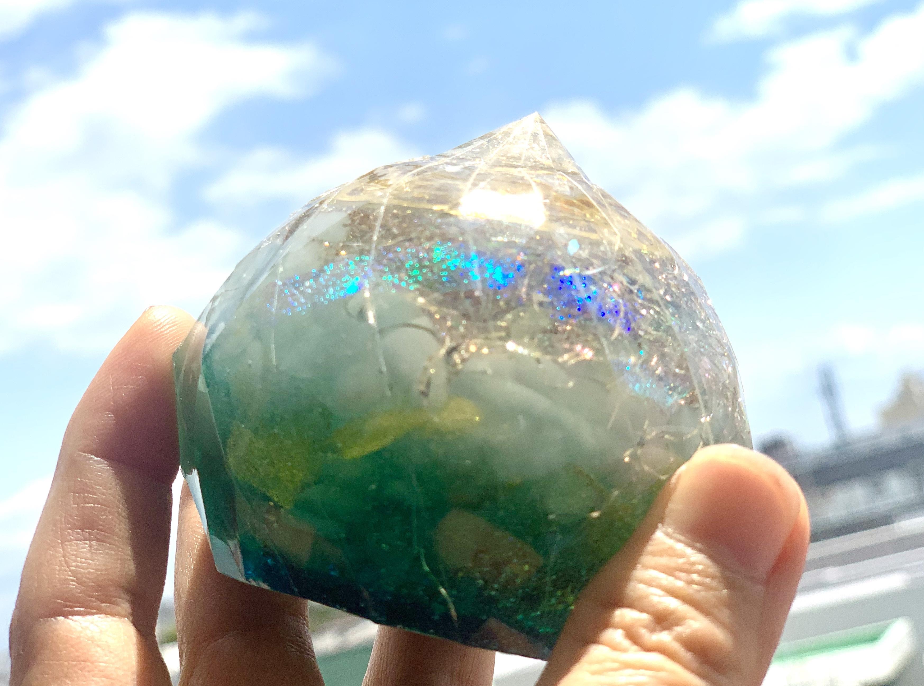 【宝珠】宇宙の叡智を授けるオルゴナイト
