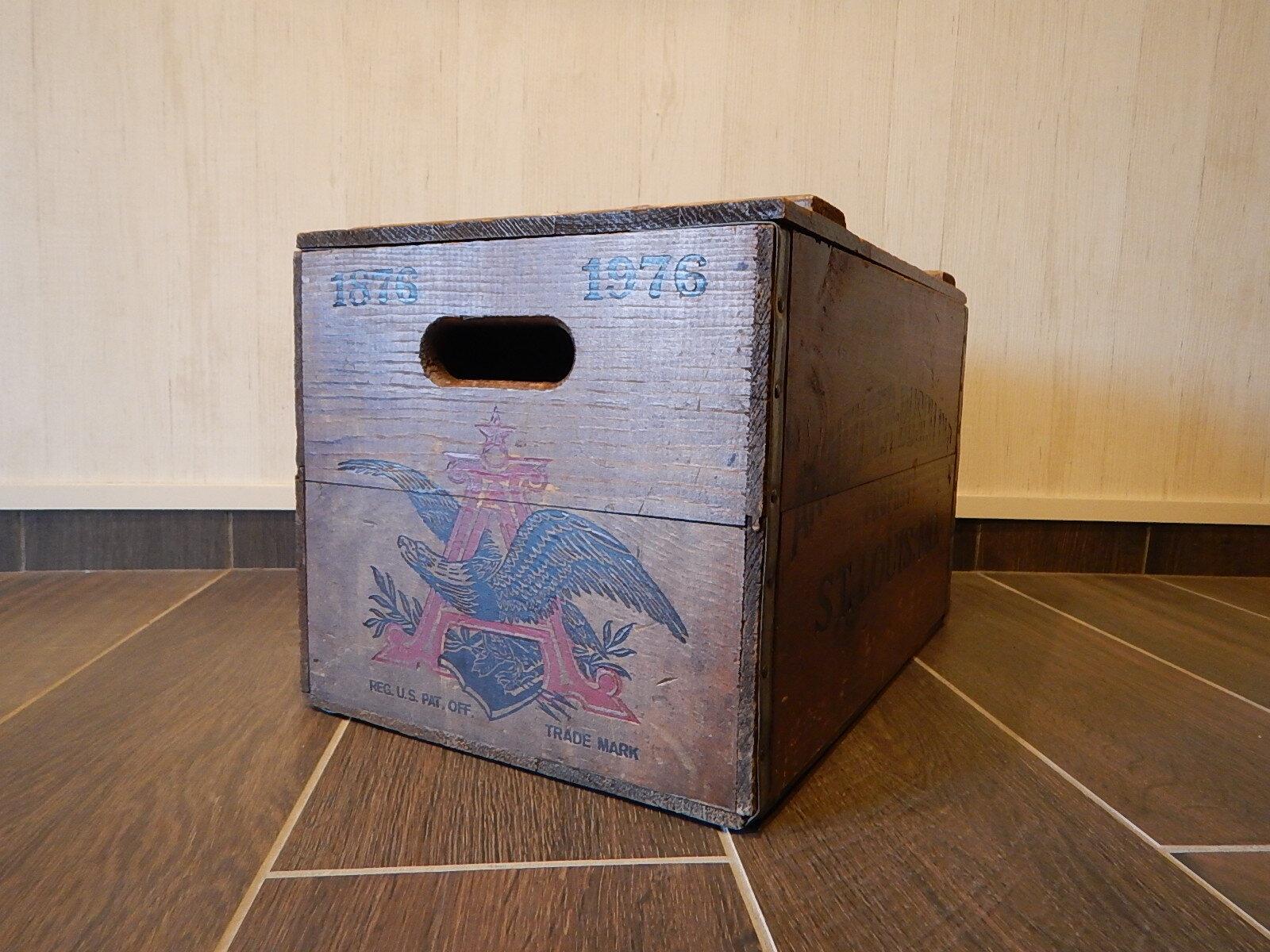品番0972 木箱 BUDWEISER 蓋つき ヴィンテージ 011