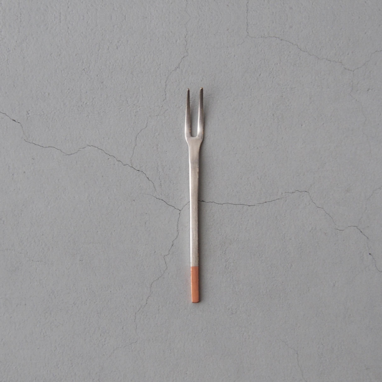 アイザワ 純銅洋食器 ヒメフォーク 銀仕上