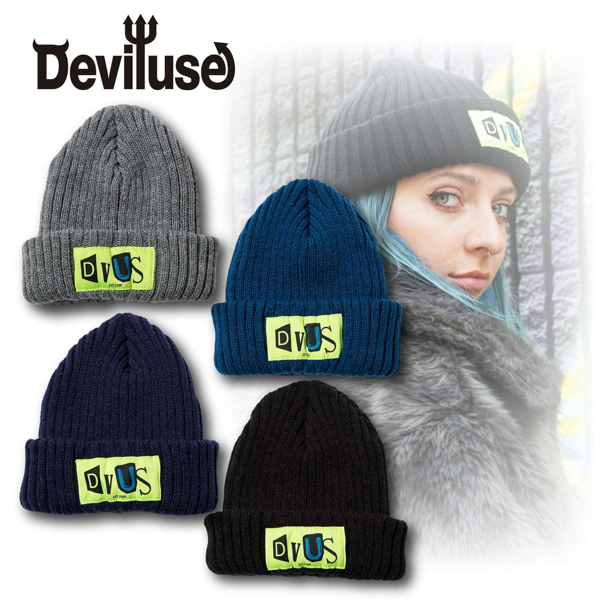 Deviluse(デビルユース) | Claim Beanie