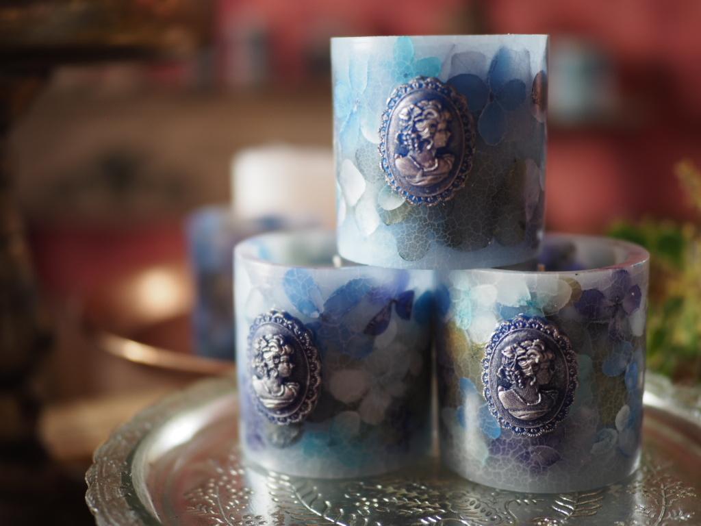 hydrangea aroma candle