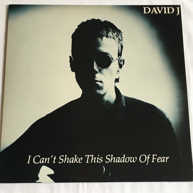 【12inch・英盤】David J / I Can't Shake This Shadow Of Fear