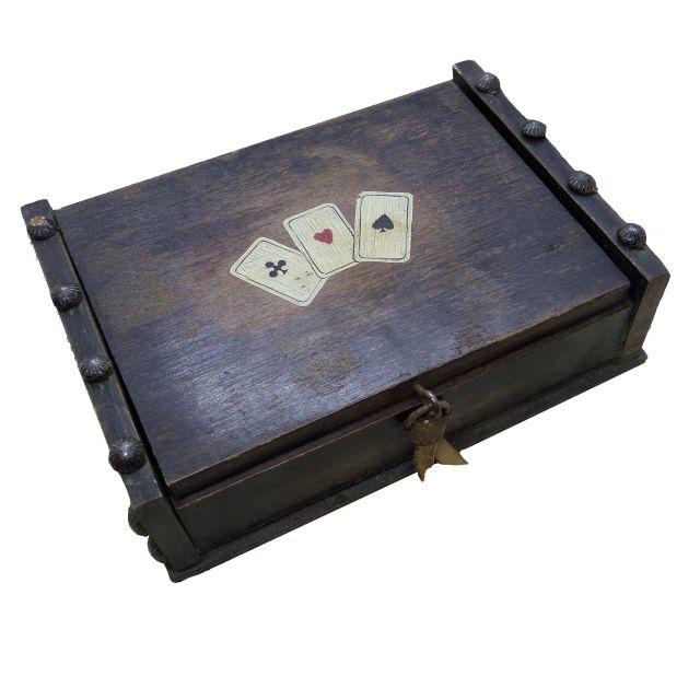 トランプケース木箱