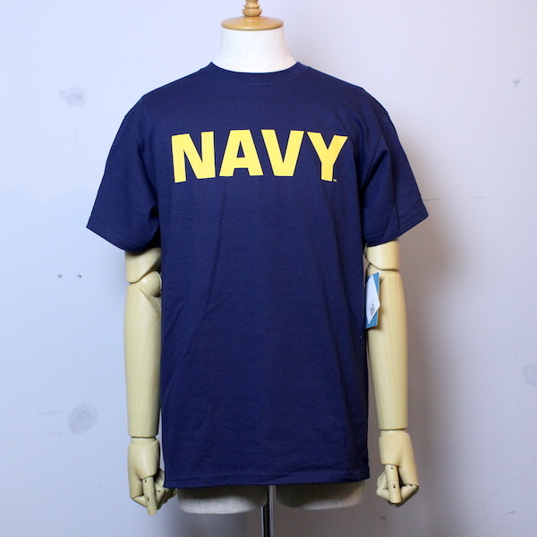"SOFFE(ソフィー) ""Navy SHORT SLEEVE COTTON TEE"""