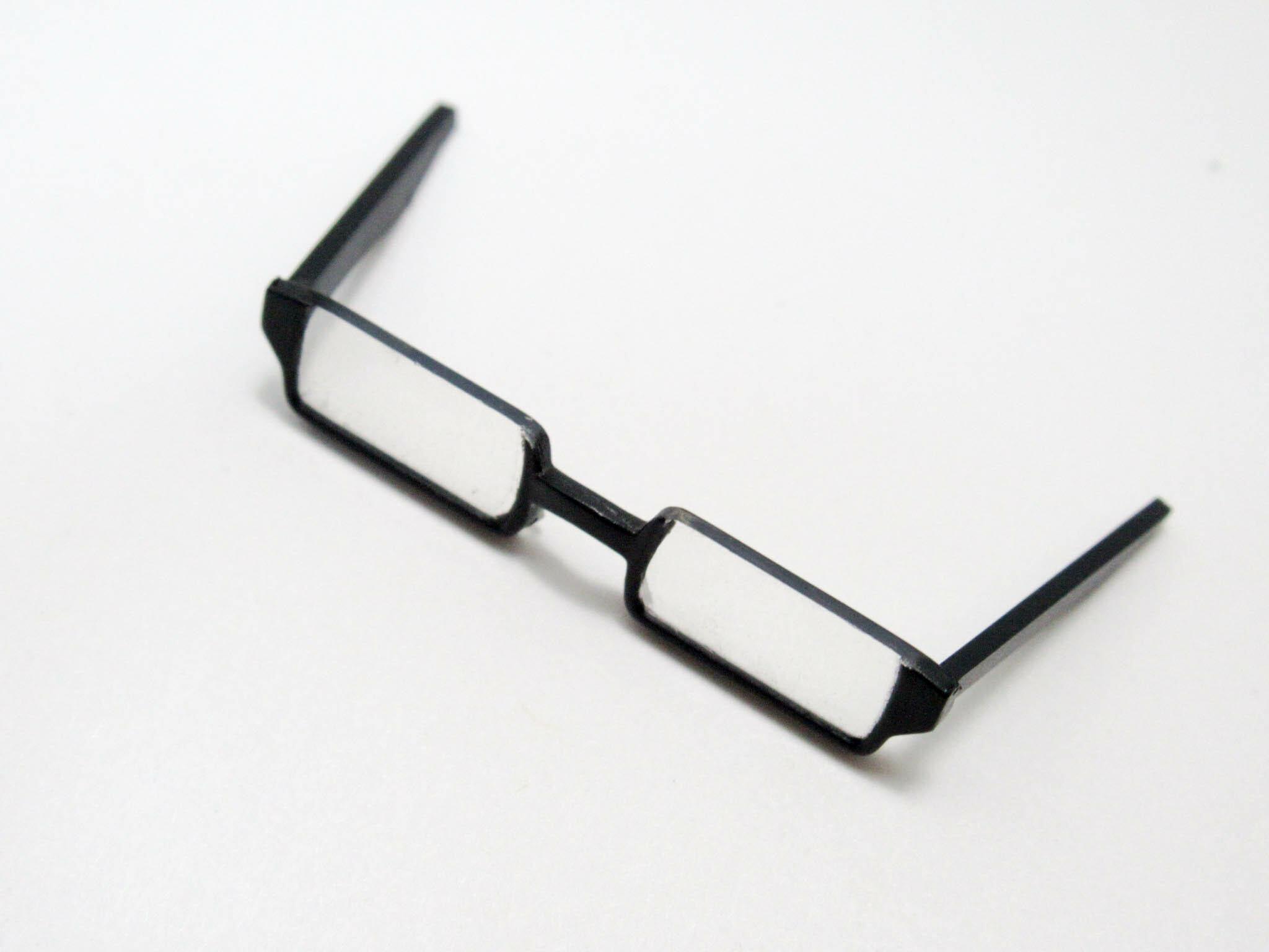 【1062】 緑間真太郎 小物パーツ メガネ ねんどろいど