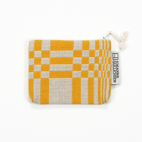 JOHANNA GULLICHSEN Coin Purse Doris Yellow