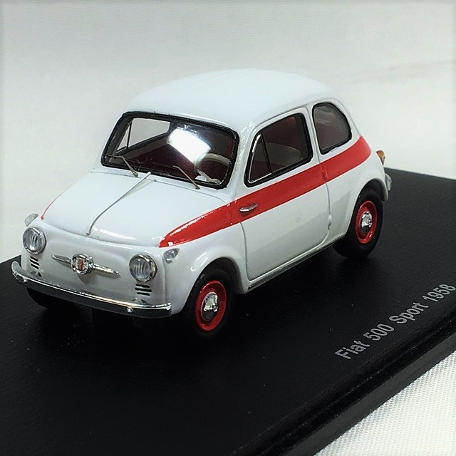 Fiat 500 Sport 1958 1/43【SPARK】【1個のみ】【税込価格】