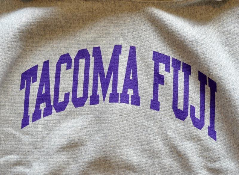 TACOMA FUJI RECORDS  TACOMA FUJI COLLEGE HOODIE