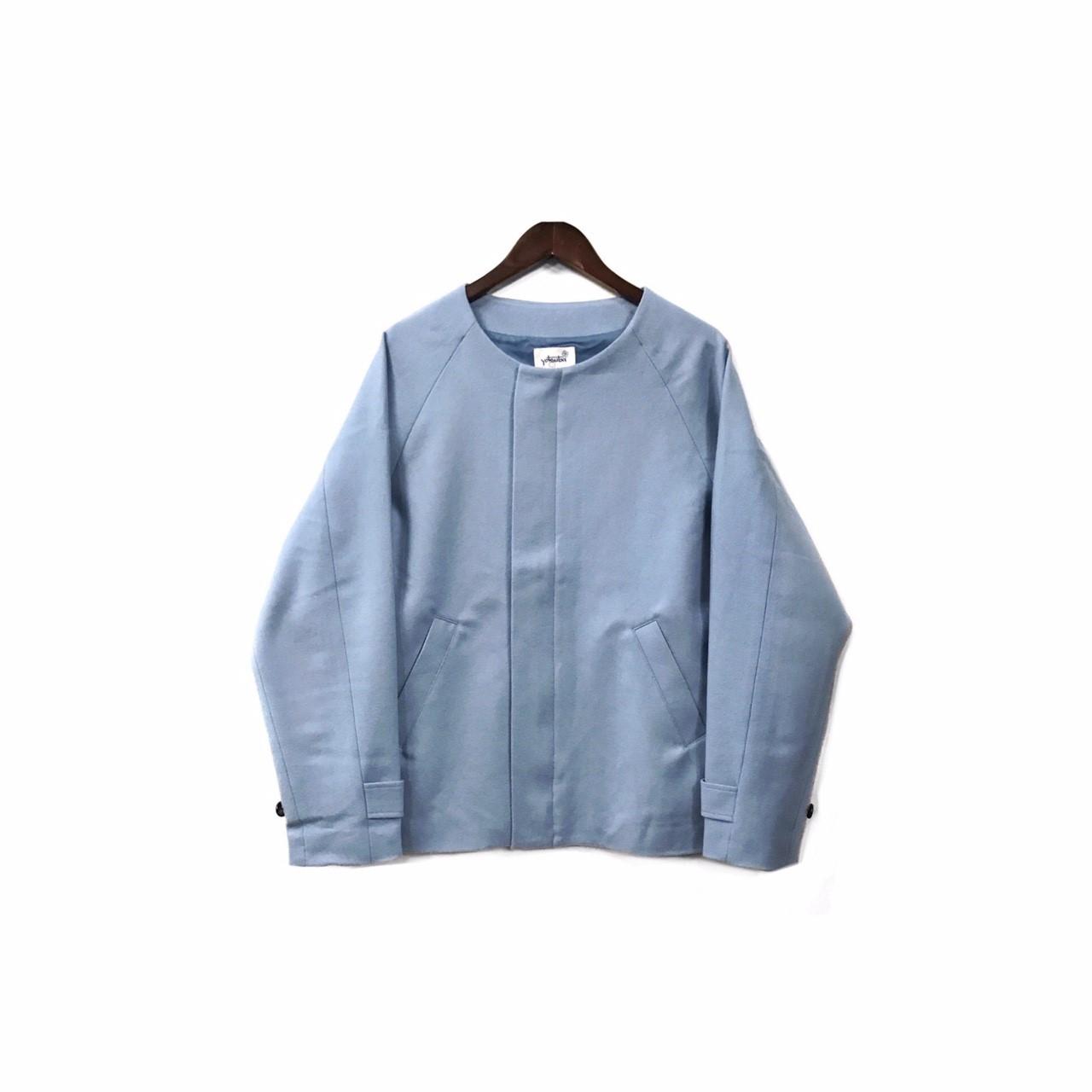yotsuba - Nocollar Jacket / Light Blue ¥35000+tax