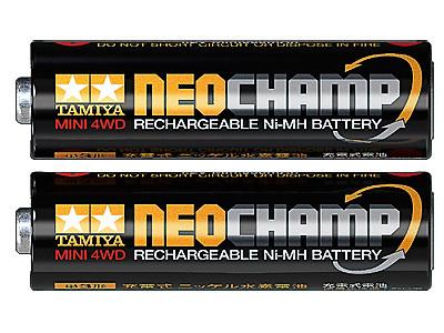 ミニ四駆 単3ニッケル水素電池 ネオチャンプ(2本)