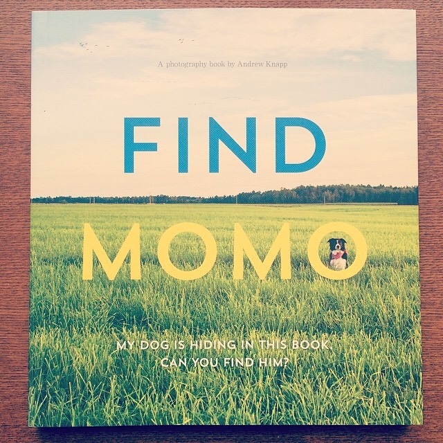 写真集「Find Momo/Andrew Knapp」 - 画像1