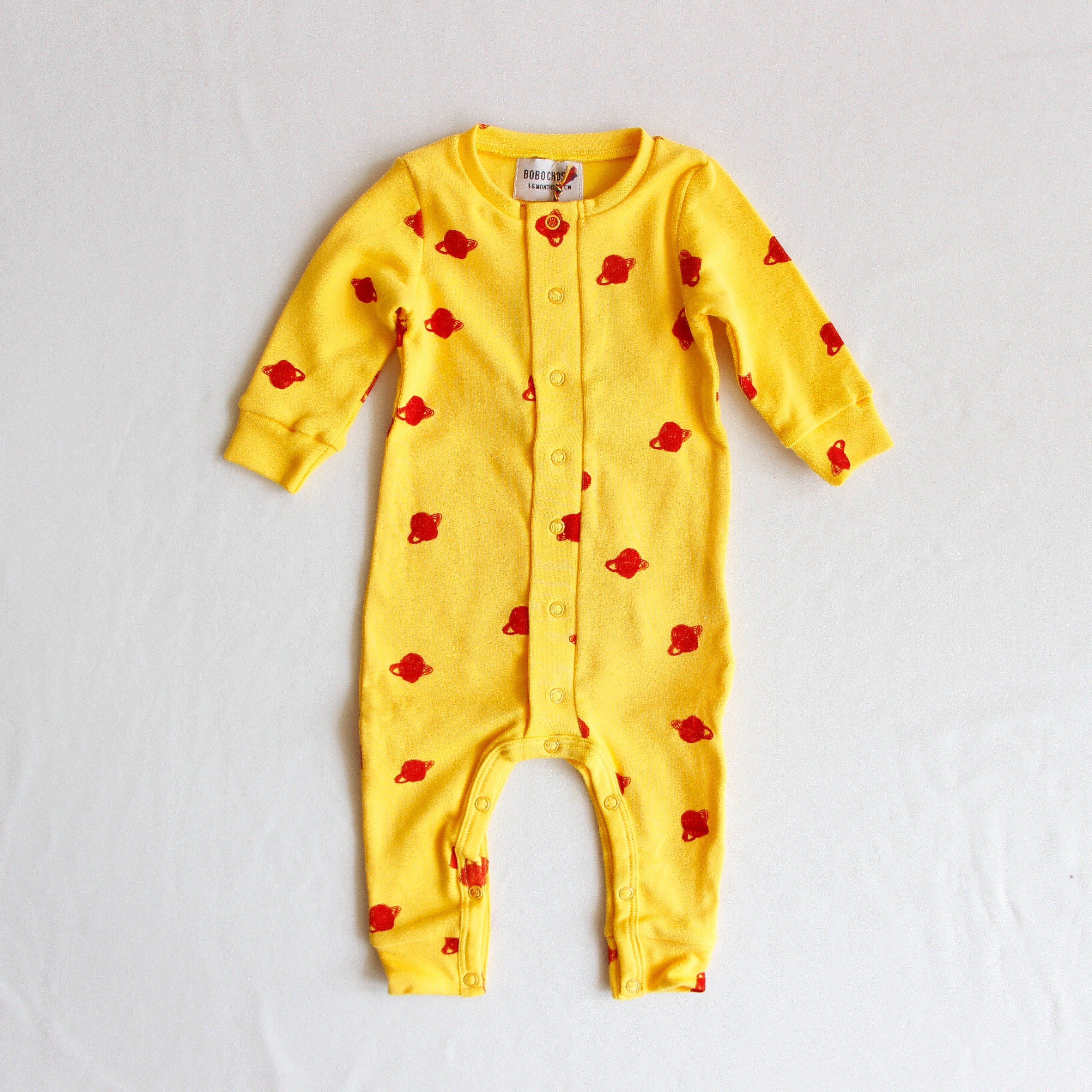 《BOBO CHOSES 2019AW》All Over Small Saturn jumpsuit / 3-6M