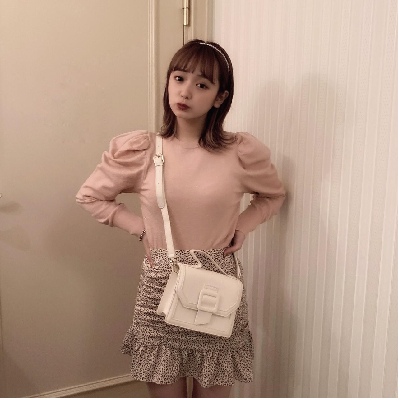【meltie】milky belt bag