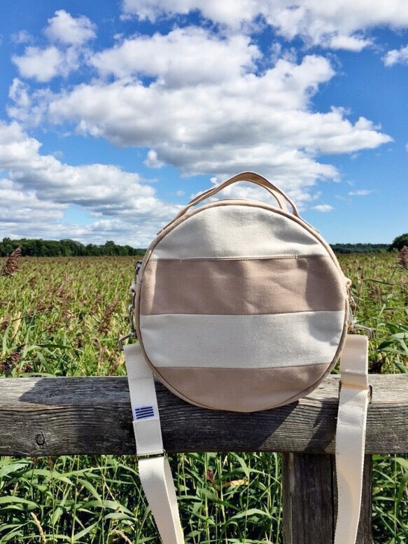 DOTLINE BAG | PINKBEIGE×KINARI