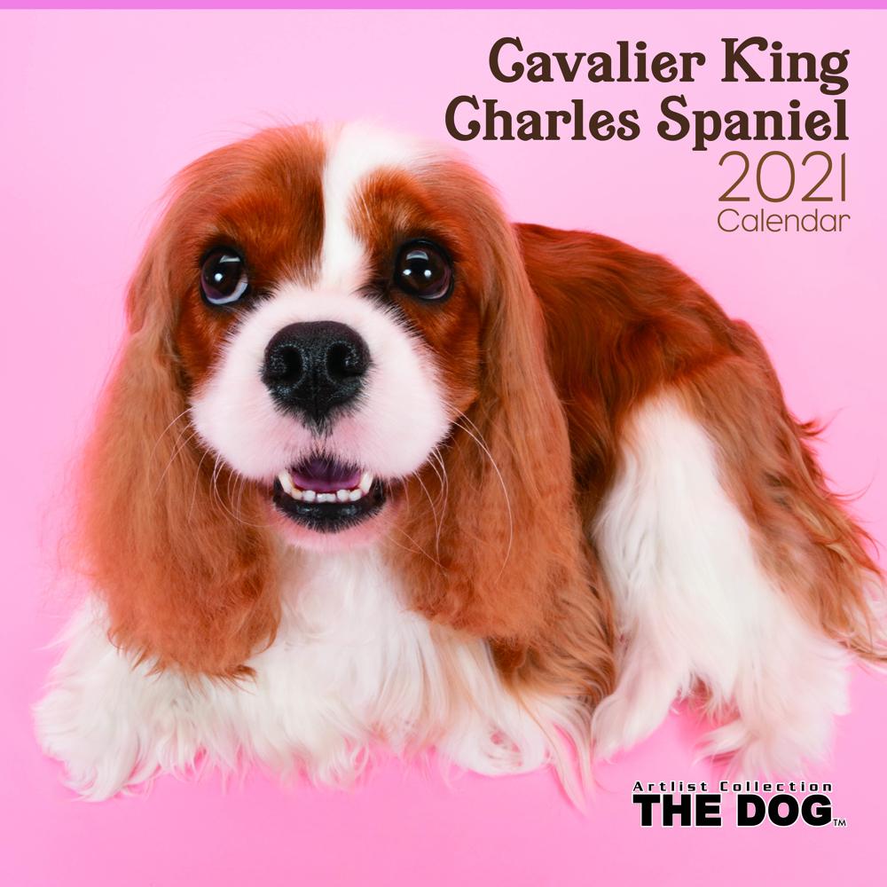 2021年 THE DOGカレンダー【大判サイズ】キャバリア・キング・チャールズ・スパニエル