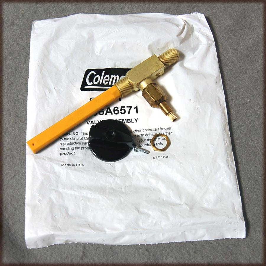 コールマン 286 ランタン用バルブアッセンブリー 286A6571 新品