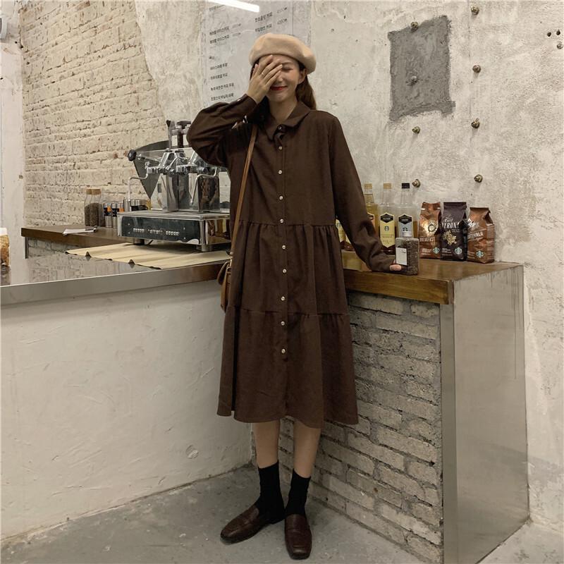 〈リクエストアイテム〉カフェに行きたくなるワンピース【cafe one-piece】