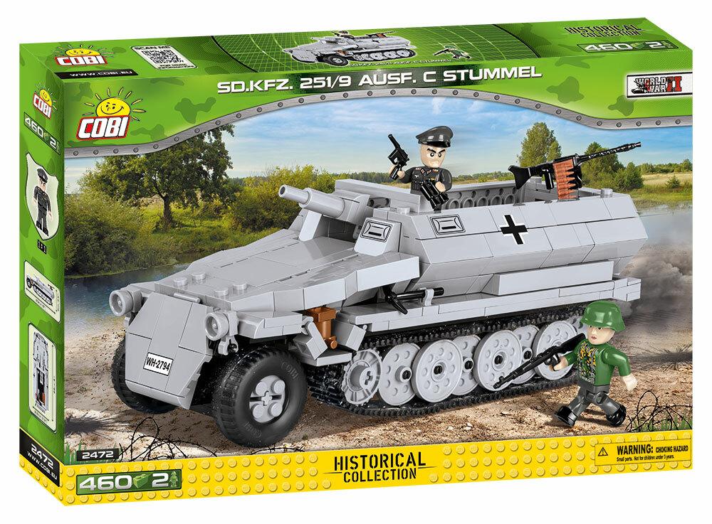 COBI #2472A SD KFZ.251/9 Ausf. C シュツンメル