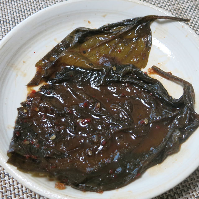 えごまの葉キムチ