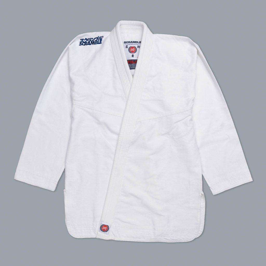 SCRAMBLE ATHLITE ホワイト ブラジリアン柔術衣