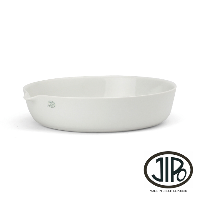 "JIPO Evaporating Dish Low Spout ""208/6"" / 450ml"