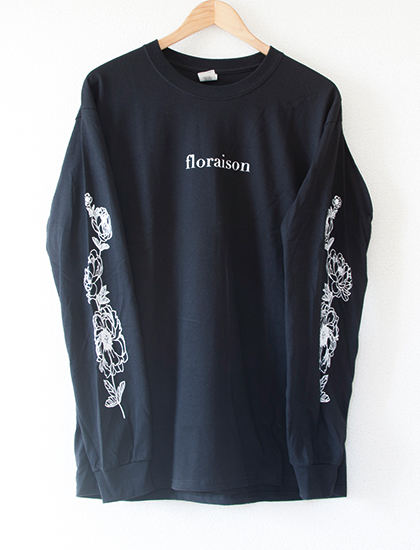 【STAY SICK CLOTHING】Floraison Long Sleeve (Black)