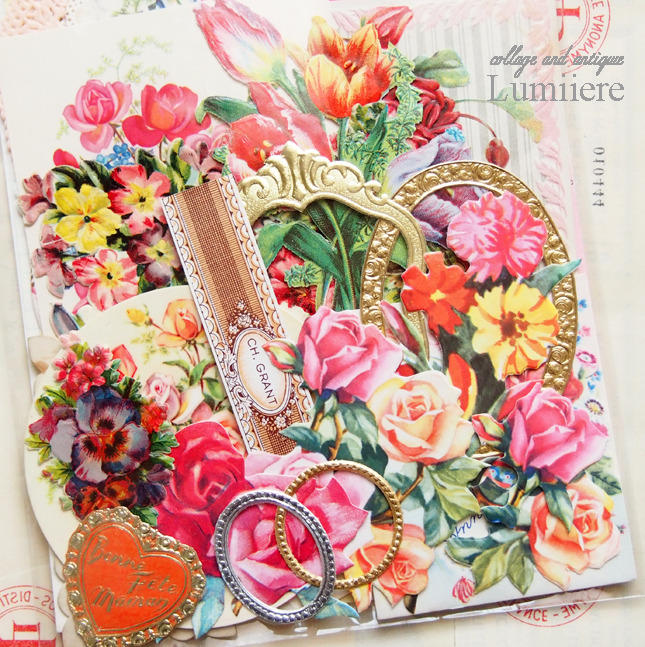 romantic paper set