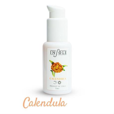 【鎮静系/オイル】INSOLE フラワーオイル カレンデュラ 50ml (Facial Oil)