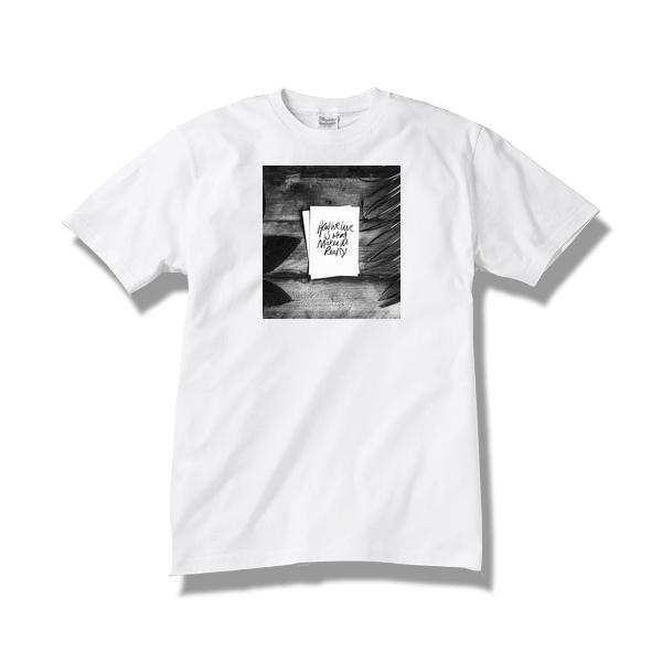 【送料無料】Tシャツ how we live / white