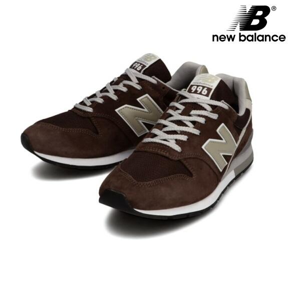 ニューバランス 996 スニーカー CM996 ブラウン 新作 NEW BALANCE CM996SHB BROWN