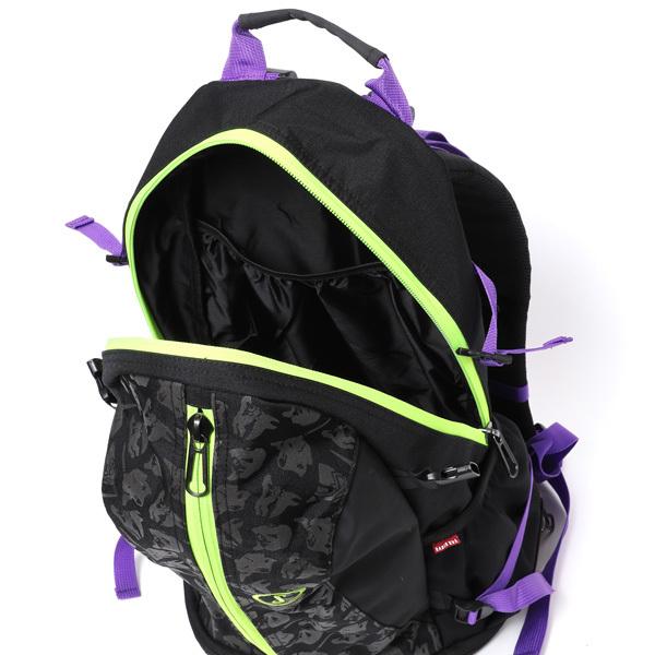 RADIO EVA 721 EVA-01 Cager Backpack by SPALDING Black x Green  / EVANGELION エヴァンゲリオン
