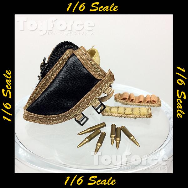 【03549】 1/6 ライフルストックポーチ デザート 小物