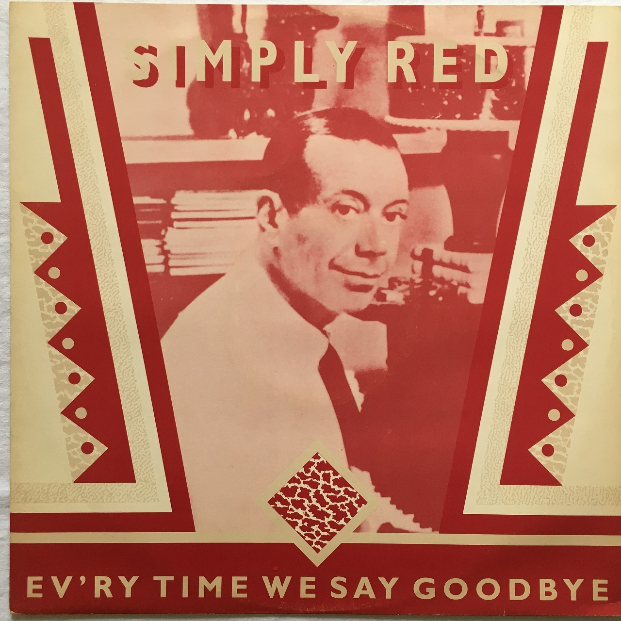 【12inch・英盤】Simply Red / Ev'ry Time We Say Goodbye