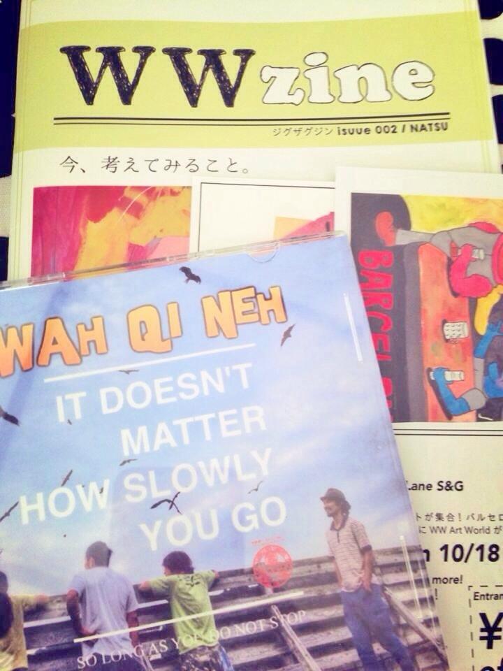 WWZine issue 002 / NATSU ( package B )