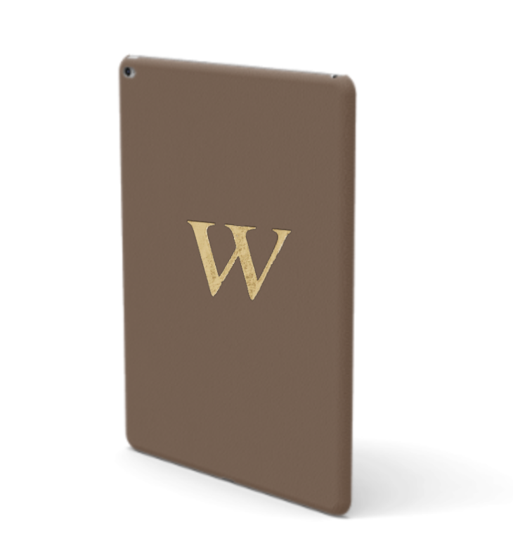 iPad Premium Smooth Leather Case (Chocolate)