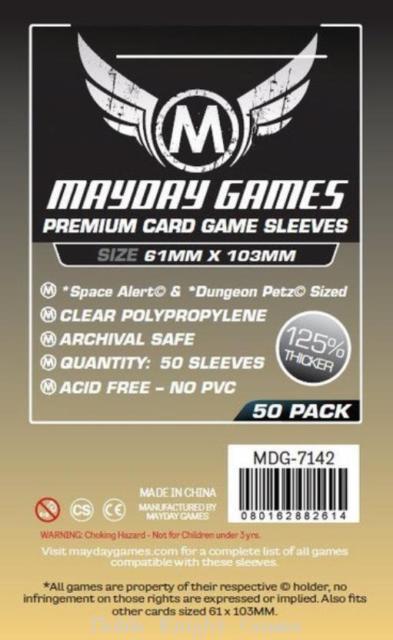 (61x103mm) Mayday カードスリーブ(プレミアムタイプ)  MDG-7142