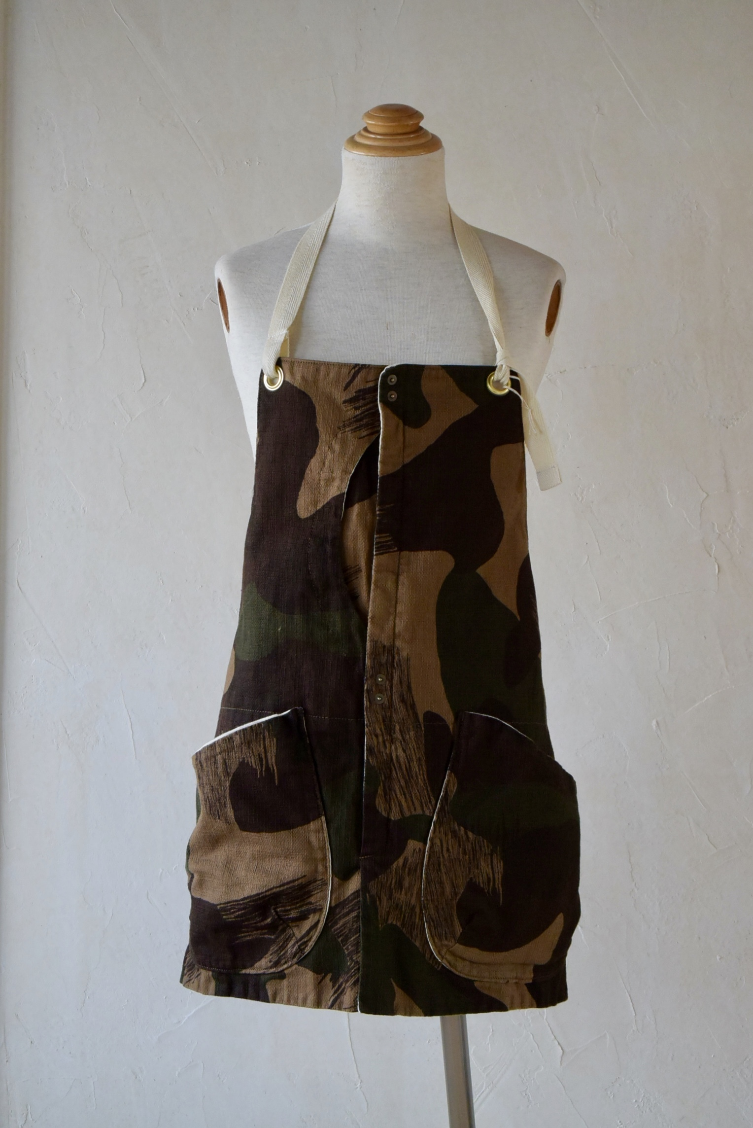 suolo GRIZZLY apron ブラウンカモ