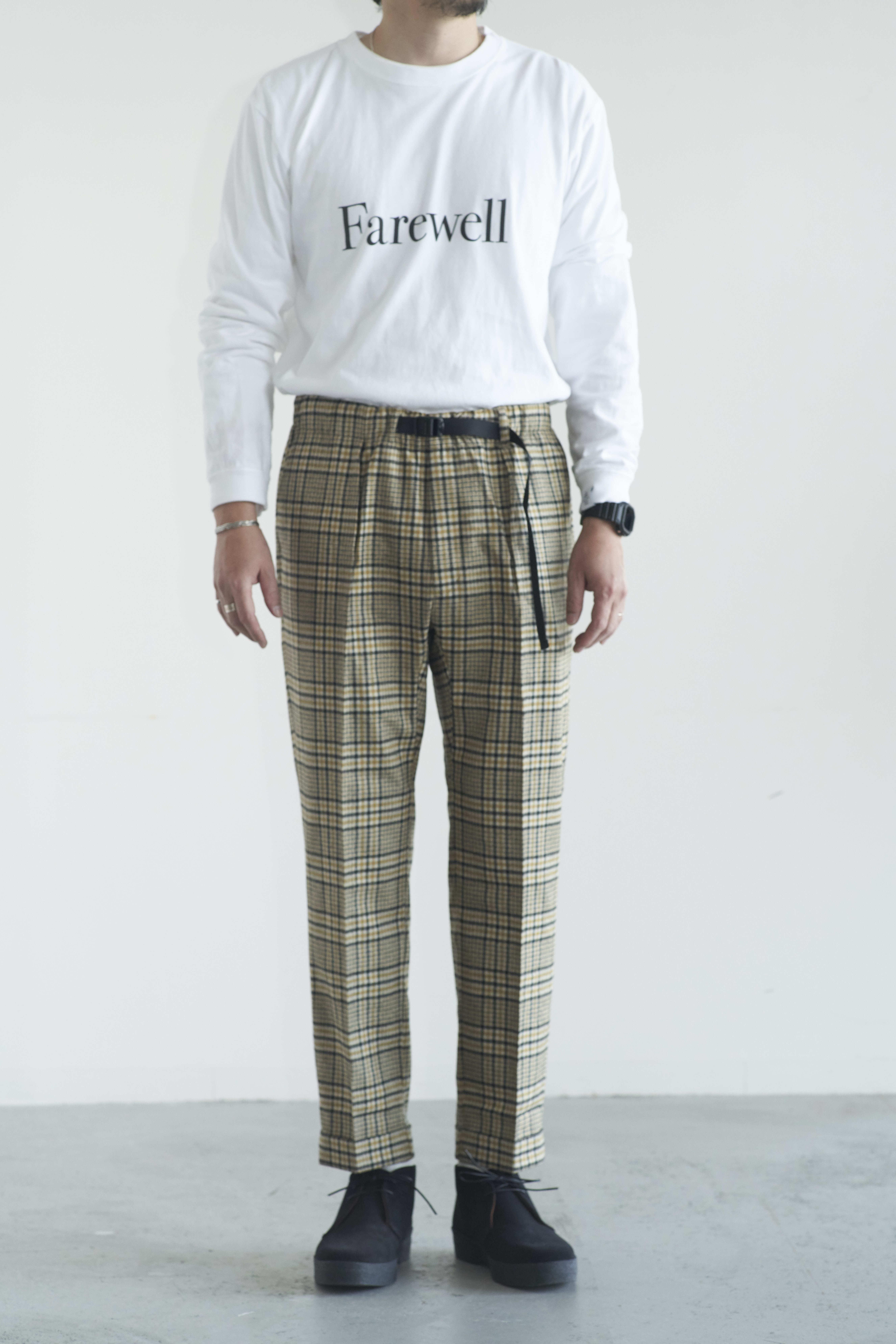 BARNSTORMER フラノイージー CHK Pants