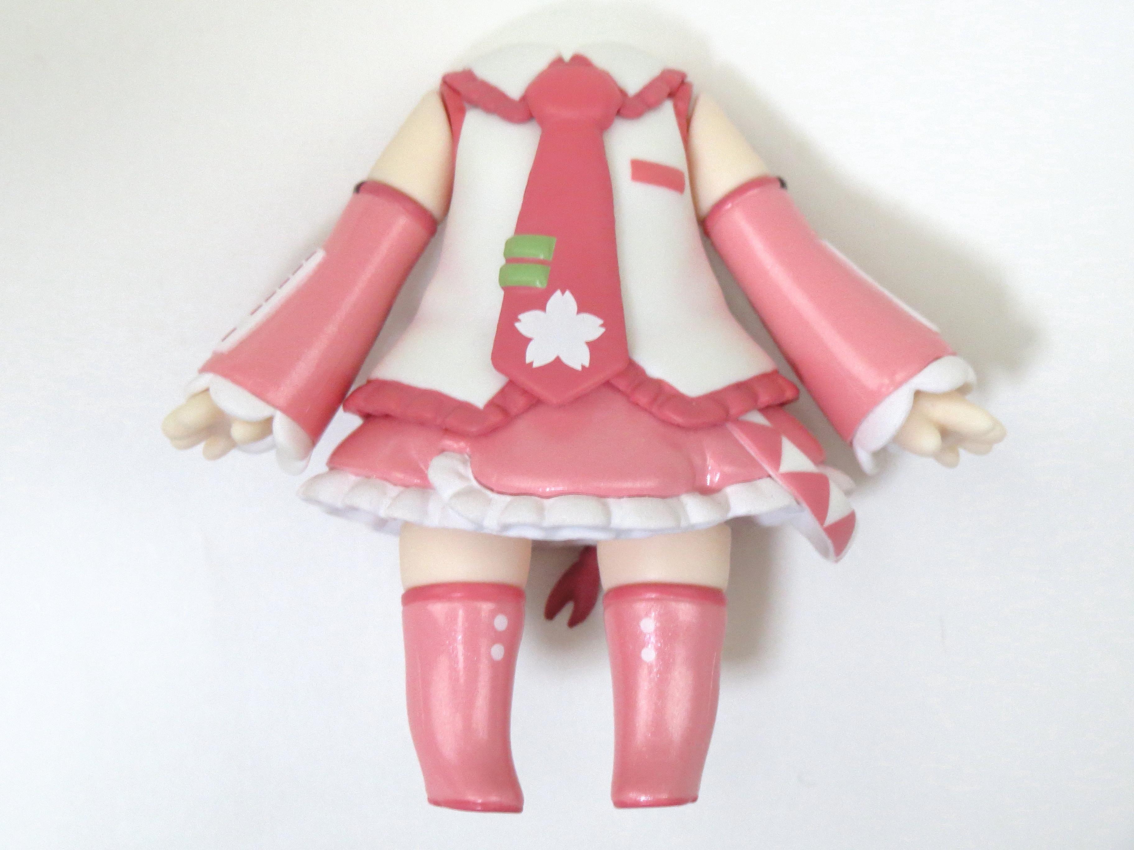 再入荷【500】 桜ミク Bloomed in Japan 体パーツ ミク衣装 ねんどろいど