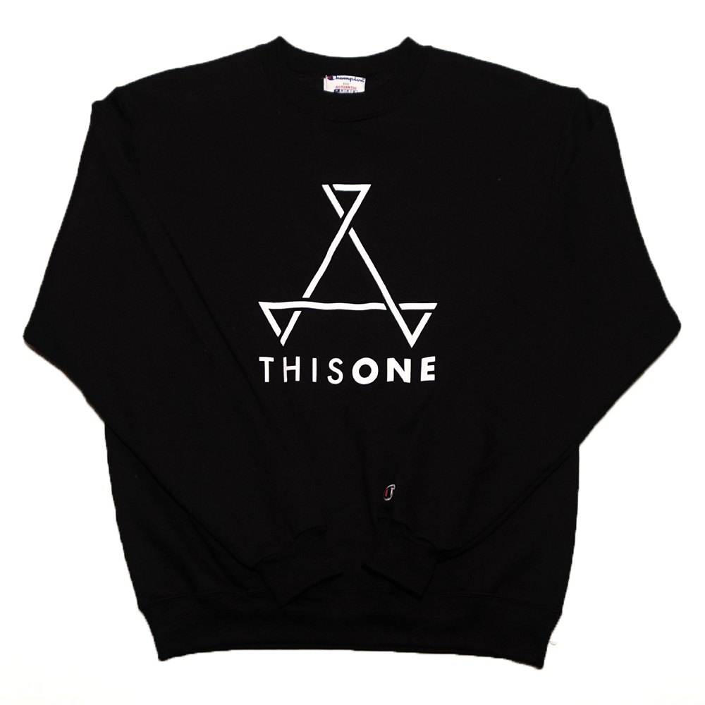 THISONE SWEAT (BLACK)