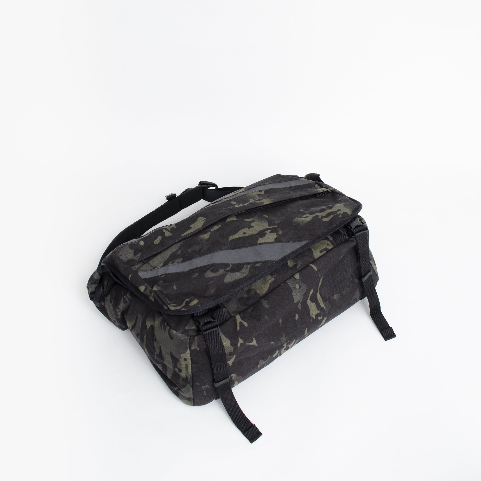 KaILI DAZZLE MESSENGER (BLACK/MULTICAM)