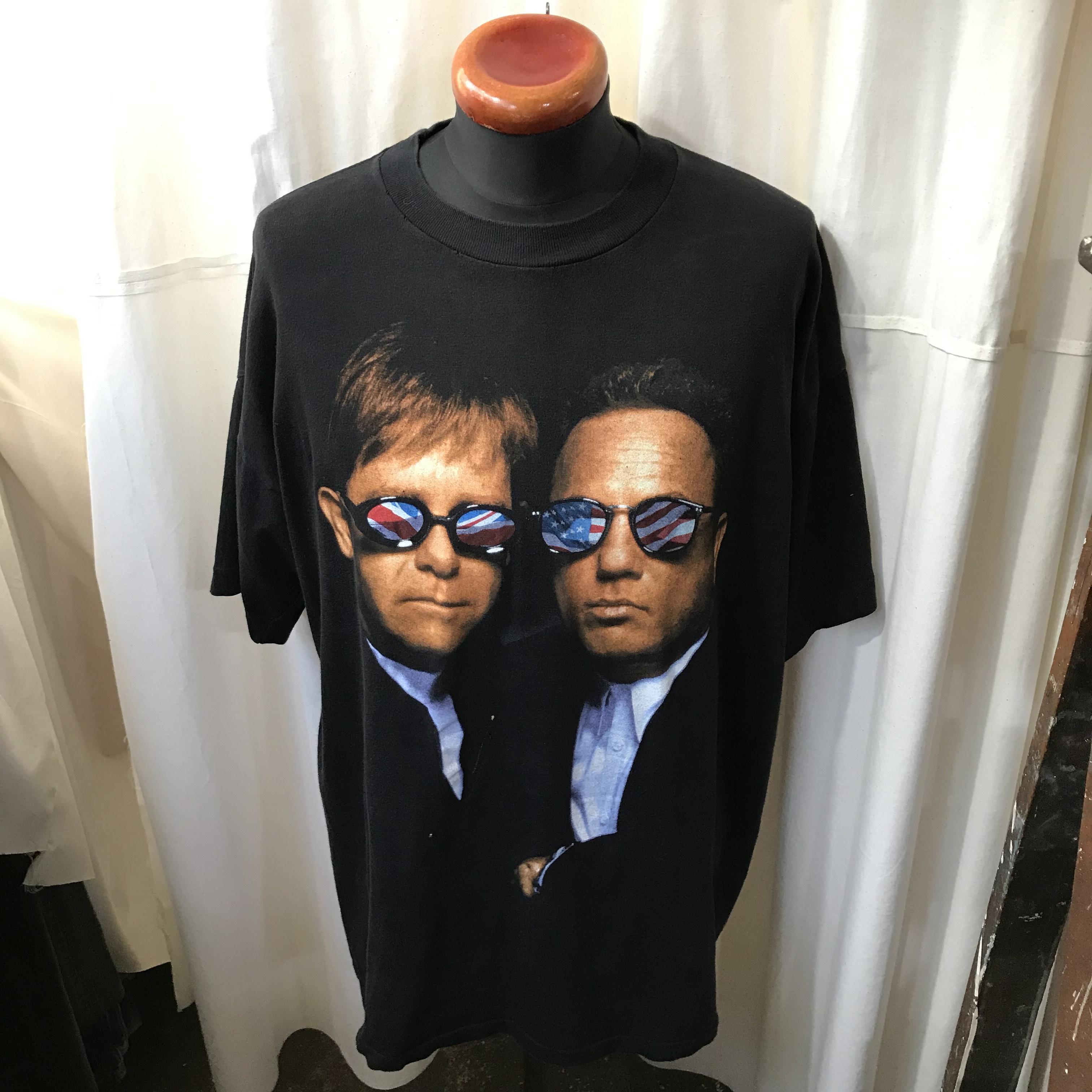 USA製 1994年ツアー Billy Joel Elton John エルトン・ジョン ビリー・ジョエル アーティストTシャツ メンズXL