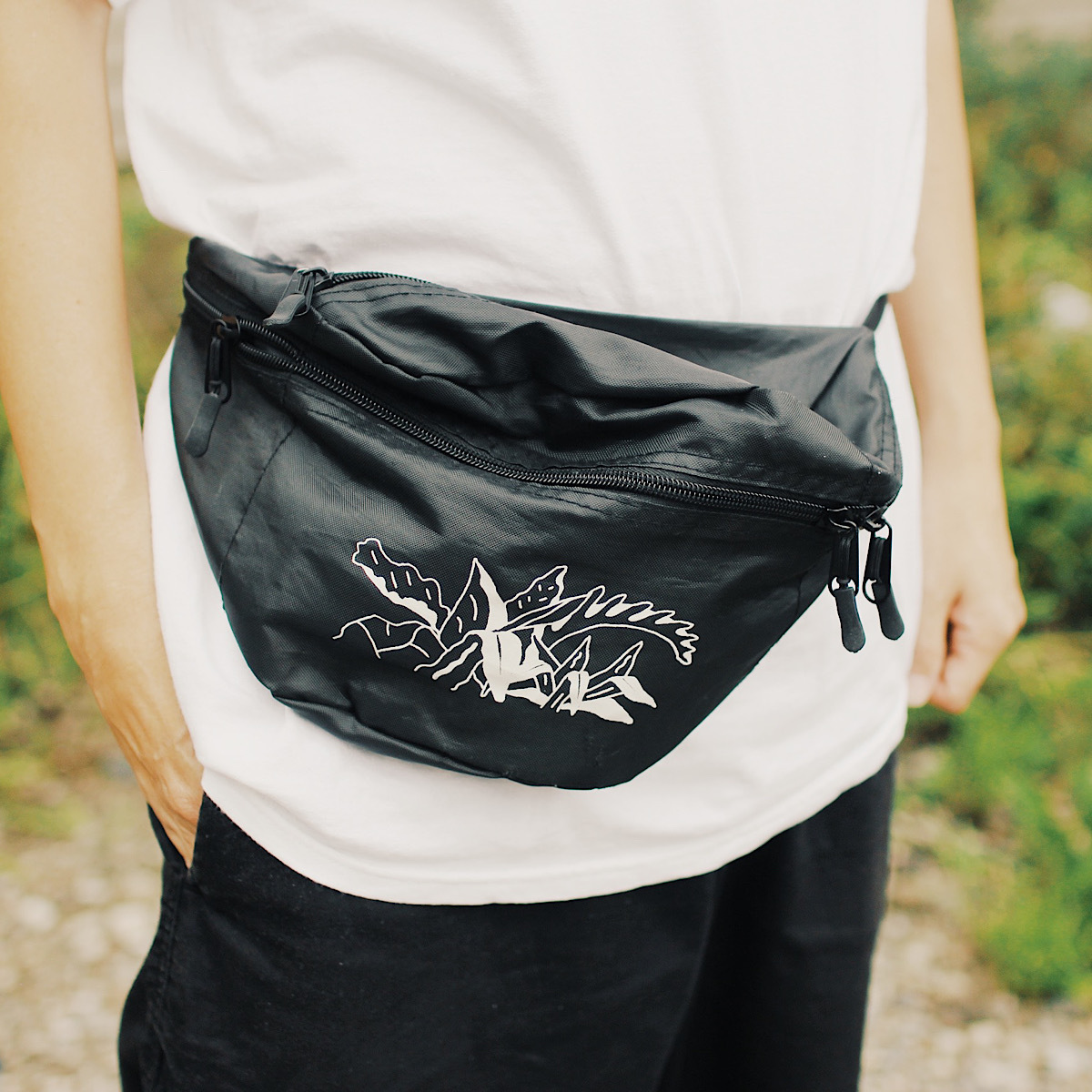 IN THE PARK nylon pouch