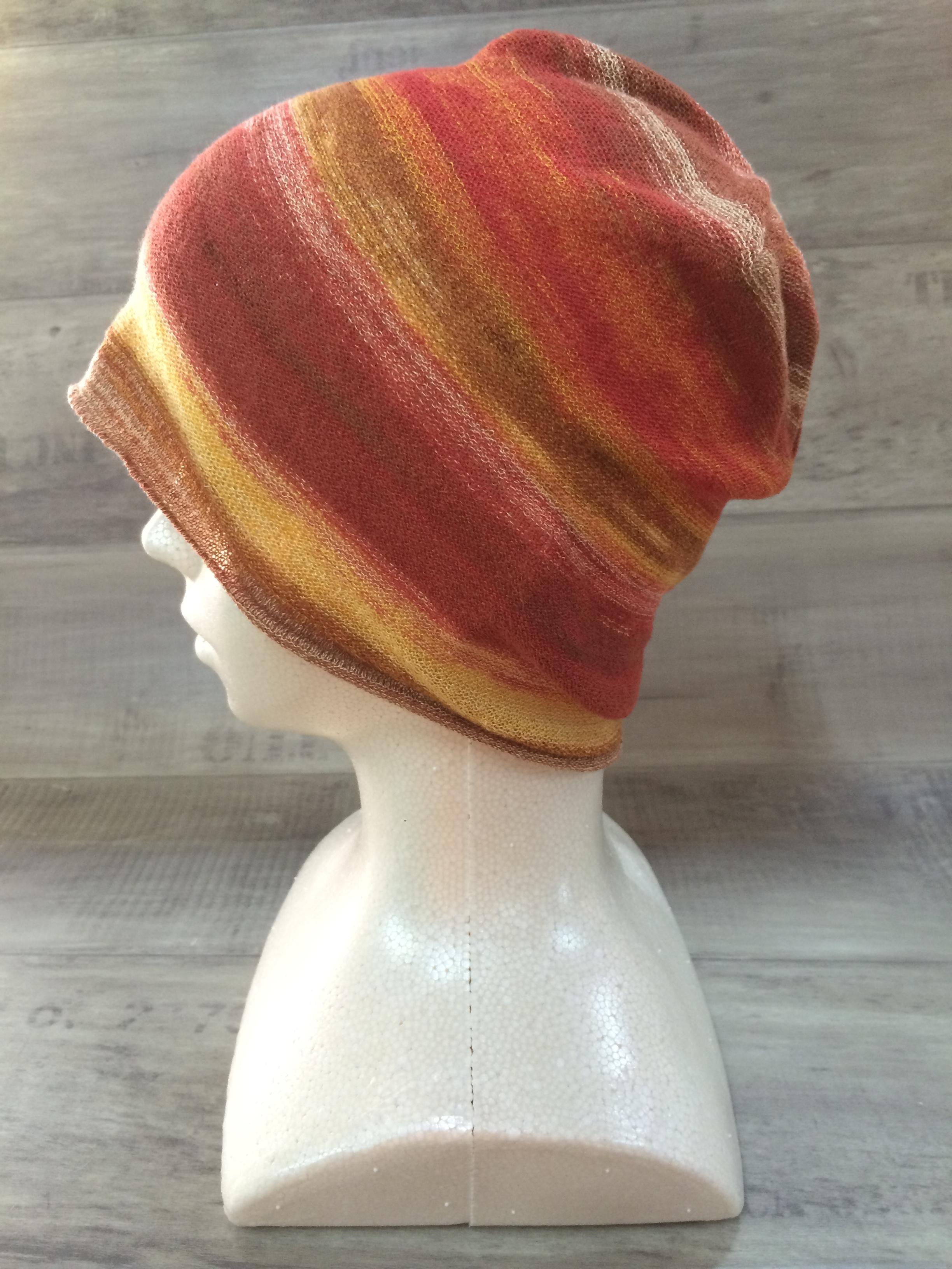 【送料無料】こころが軽くなるニット帽子amuamu|新潟の老舗ニットメーカーが考案した抗がん治療中の脱毛ストレスを軽減する機能性と豊富なデザイン NB-6059|初茜(はつあかね)