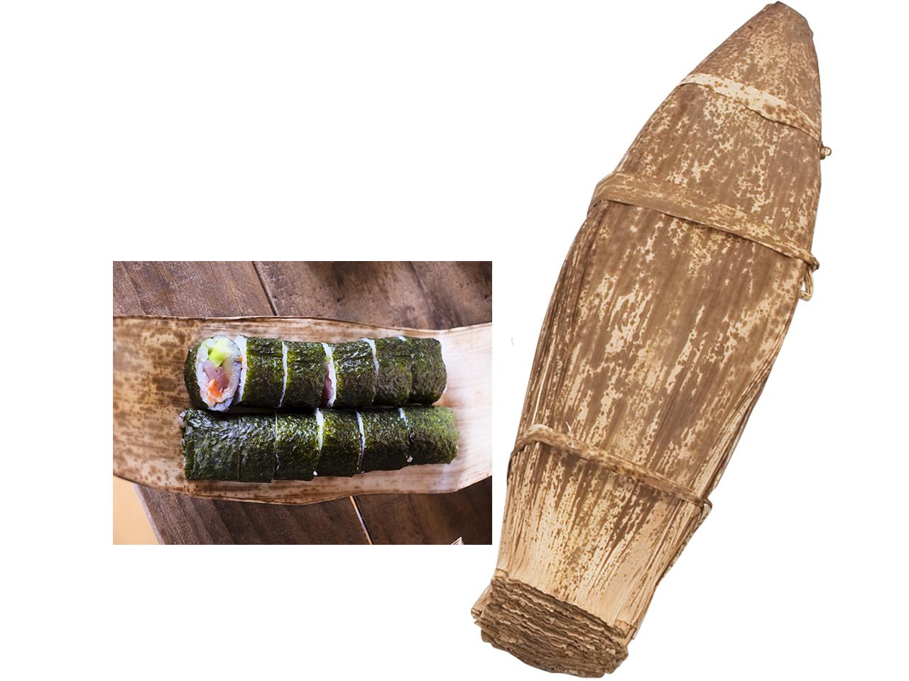 竹皮 業務用1Kg(約100~120枚)