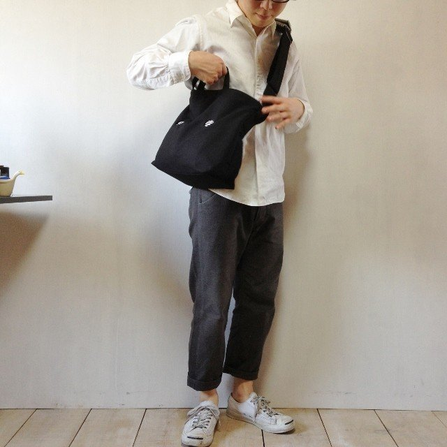 【受注製作】MARUMADO BAG | BLACK