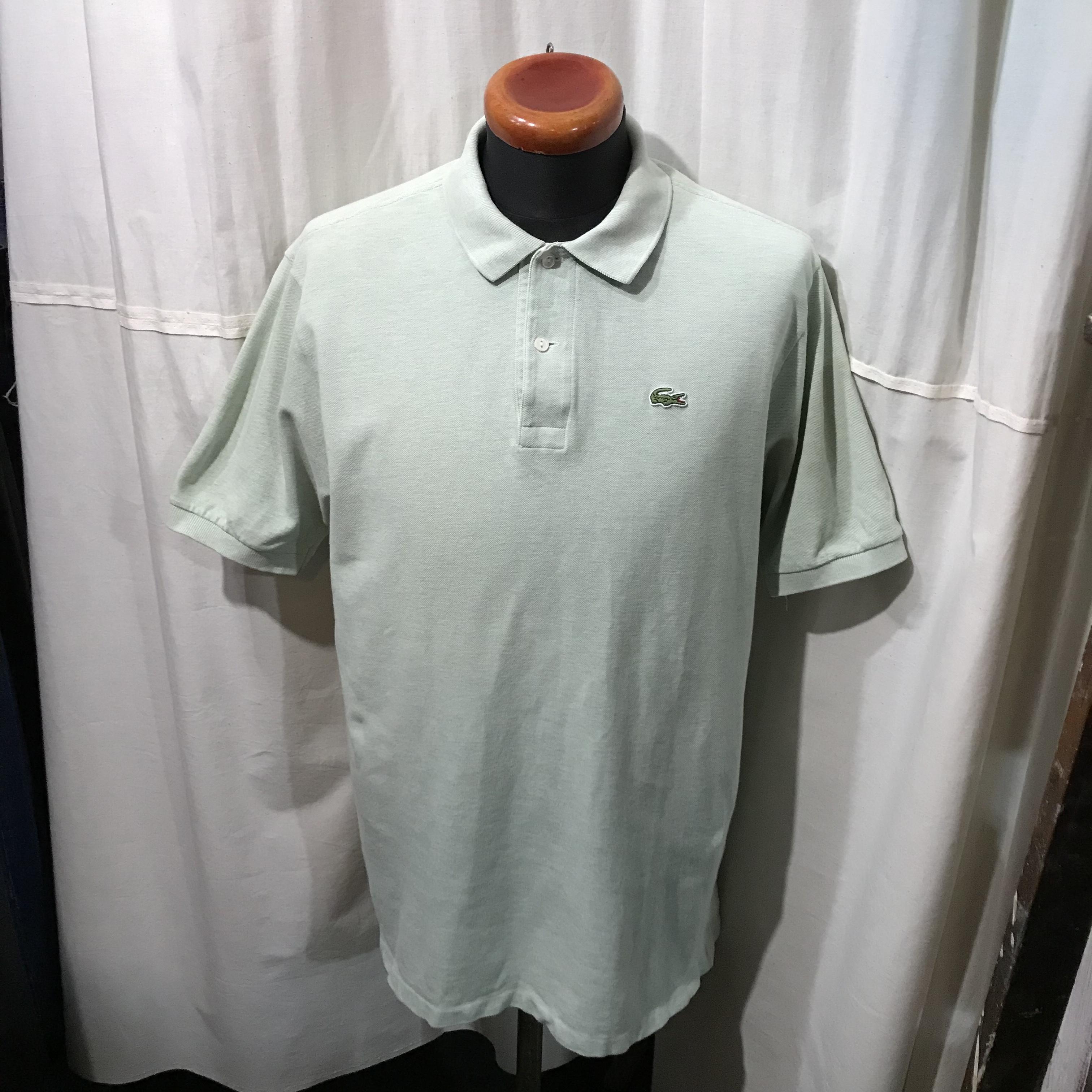 フランス製 70's~80's vintage LACOSTE 半袖ポロシャツ フレンチラコ メンズL