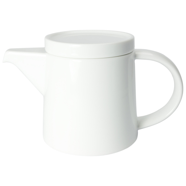 白山陶器 M型ポット 白マット